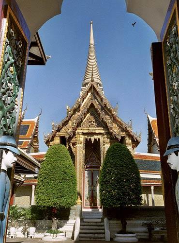 Wat Rajabopit Sathitmahasimaram Rajaworavihara Temple in Bangkok.
