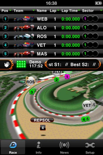 Four must-have F1 apps for your smartphone