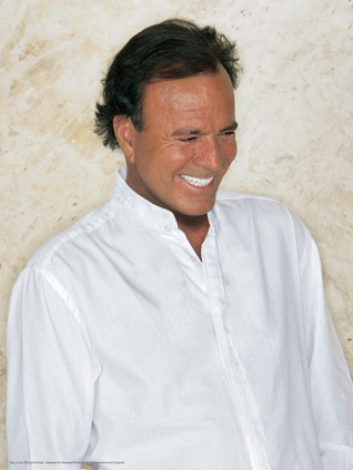 Julio Iglesias, one of the top 10 singers in the history of music