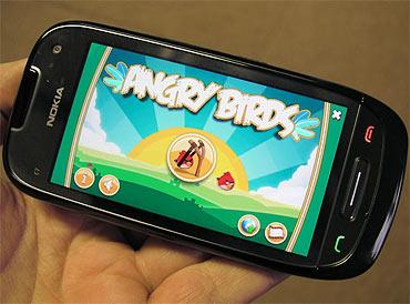 Angry Bird Rio for Nokia