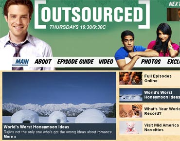 An image of NBC's Outsourced