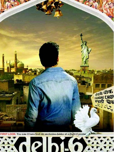 In Delhi 6, Abhishek Bachchan plays an NRI who falls in love with the people of Delhi