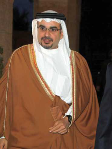 Bahrain's Crown Prince Salman Bin Hamad in Amman