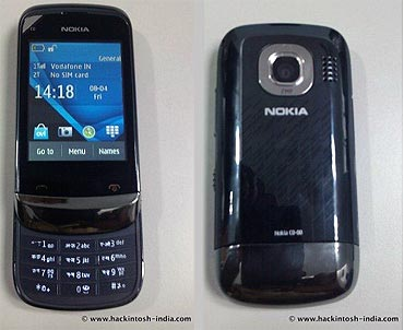Nokia C2-06 Touch and Type dual SIM slider