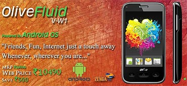 Olive low-cost Android phone