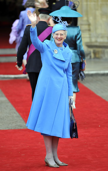 Denmark's Queen Margrethe