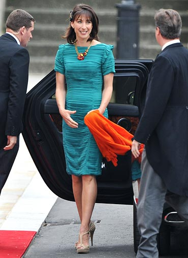 First Lady of the UK Samantha Cameron
