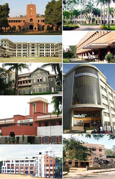 Best Science colleges of India 2011