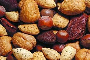 Nuts help in stress relief