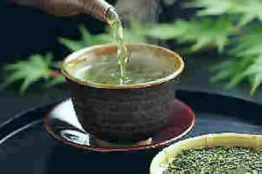 Green tea actually helps fight stress