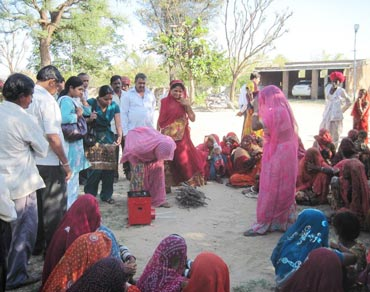 Rural women were most helpful with their inputs on what the stove should look like