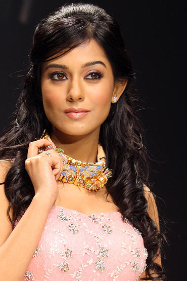 Amrita Rao for Agni Jewels Pvt. Ltd