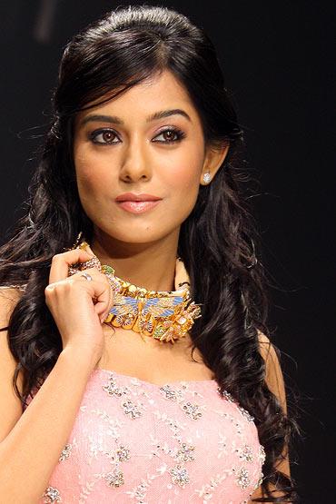 Amrita Rao for Agni Jewels Pvt. Ltd
