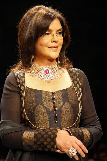 Zeenat Aman for Sawansukha Jewellers Pvt Ltd