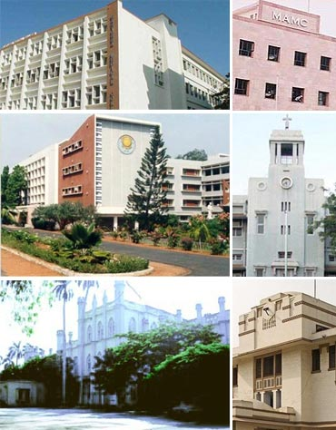 India's best medical colleges of 2011
