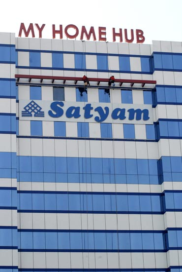Satyam headquarter in Hyderabad