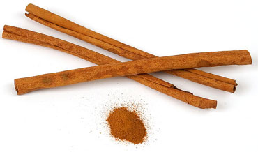 Compounds present in cinnamon powder can activate the enzyme that stimulates insulin receptors.