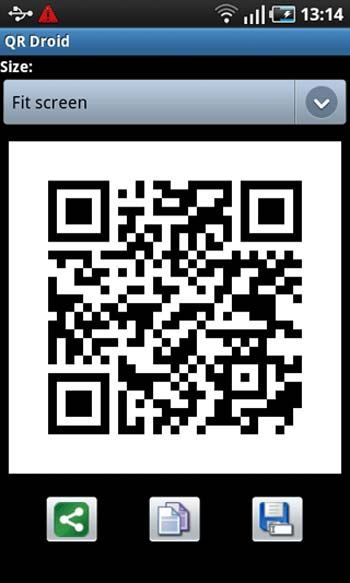 QR Droid / Red Laser for Android smartphones
