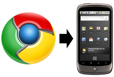 Chrome to Phone for Android smartphones