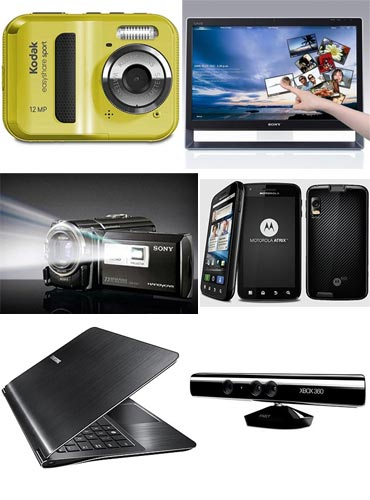 A collage of gadget gifts for your sister this raksha bandhan