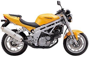 Hyosung GT650