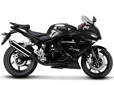 Pix Two Hot Motorbikes From Hyosung In India Rediff