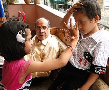 Kanu Priya Jain's niece and nephew celebrate Raksha Bandhan