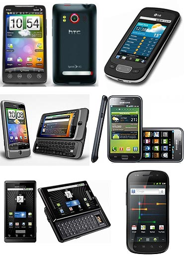 10 Best Android phones ever!