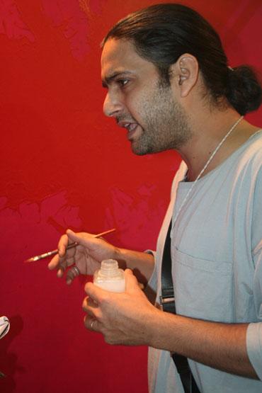 Artist Prashast Kachru