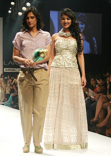 Rina Dhaka and Sonal Chauhan