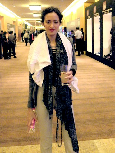 Tamara Moss at Lakme Fashion Week, Mumbai