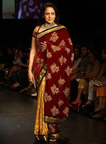 Hema Malini for Shyamal and Bhumika