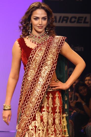 Esha Deol for Shyamal and Bhumika