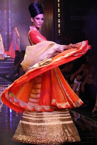 Kavita Kharayat for Manish Malhotra