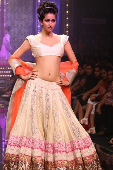 Anjali Lavanya for Manish Malhotra