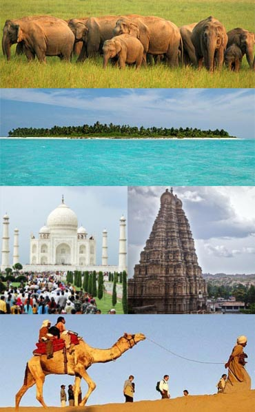 The best places to see in India