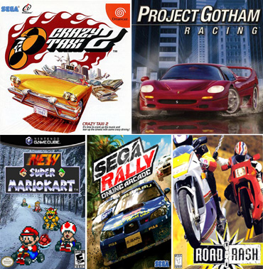 Top 5 retro-racing games making a comeback
