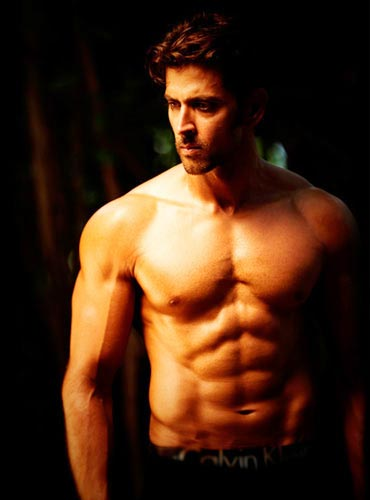 Hrithik Roshan is one of the fittest actors in Bollywood today and flaunts his six-packs proudly