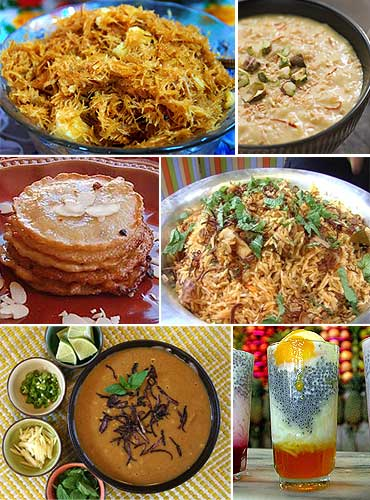 Eid culinary specialities