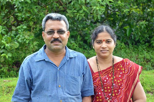 Rajendra and Pournima Kerkar