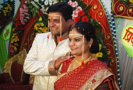 Priya  and Sameer Dolke