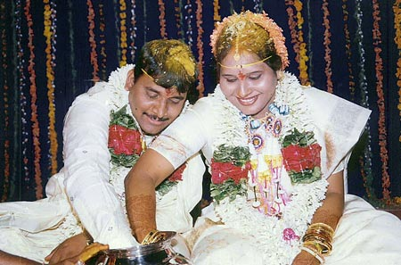 Madhumathi and her husband Chandrashekhar from Hyderabad