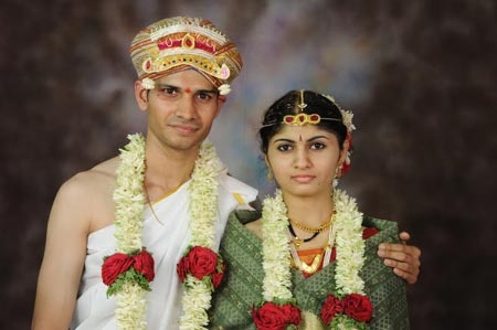 Shishir Venugopal Rao and his wife Neetha