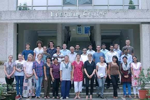 International students at XLRI, Jamshedpur