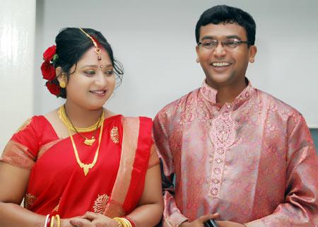 Aarti and Tapash Kumar Dutta