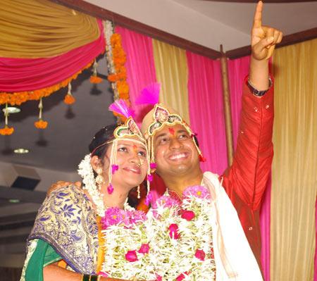Riya and Swapnil Rane