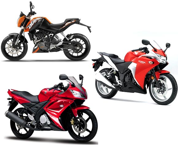 The race of the superbikes: KTM vs Yamaha vs Honda