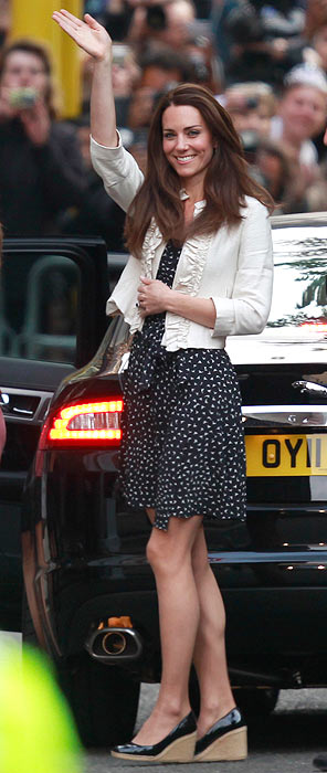 Middleton receives fashion tips from Camilla!