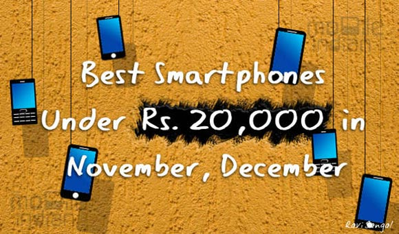 Top 5 smartphones under Rs 20,000