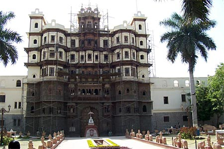 Rajwada, a famous landmark of Indore